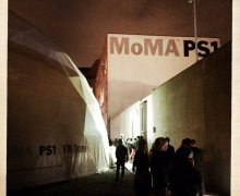 Visiting the MOMA PS1 with Kisha C Jones in NYC