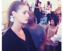 NYC Fashion Week/Backstage