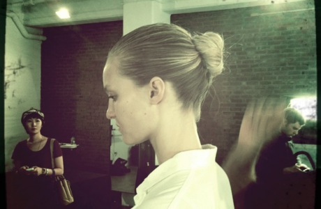 NYC Fashion Week/Backstage