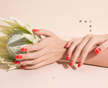 Sailor manicure deluxe at Paintbox in NYC