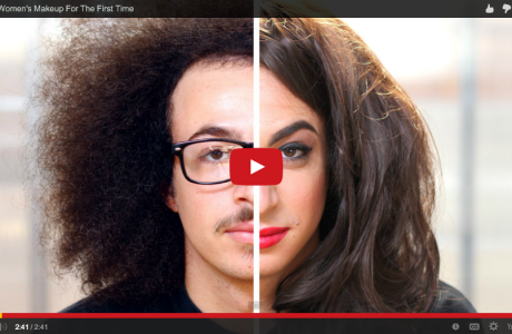 Men trying on make-up for the first time/ Hilarious / Inspiring Sundays