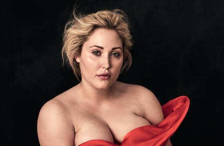 Cover Model 'Hayley Hasselhoff' for the Sheego calendar 2017