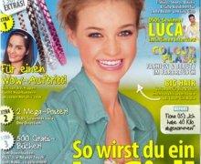 Maedchen Magazine with Garnier