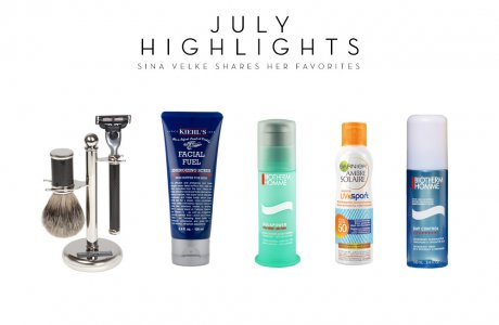Summer essentials for a man and his morning routine