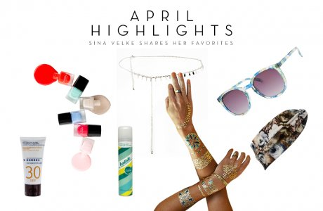April Highlights / My favorite products