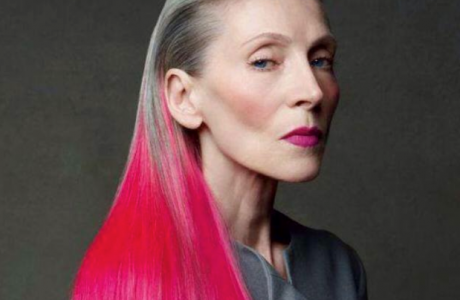 Eveline Hall / Patrick Demarchelier / Aging gracefully