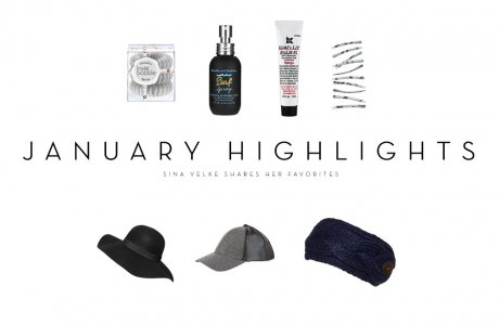 January Highlights / My favorite products