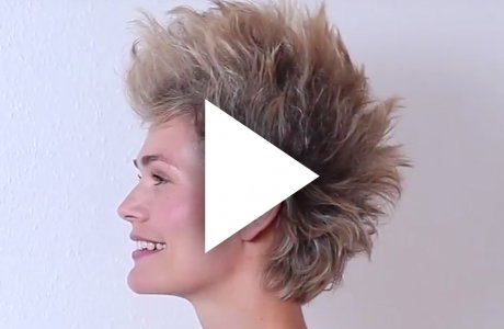 How to style an iro with a fake undercut