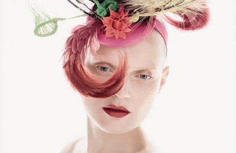 Mac Cosmetics / Philip Treacy / hats