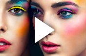 Make-up for the bird of paradise / Coachella / Andra / Cosmopolitan