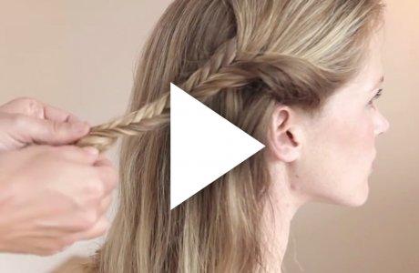 Cute hippie fishtailbraid / Coachella / Festival hair