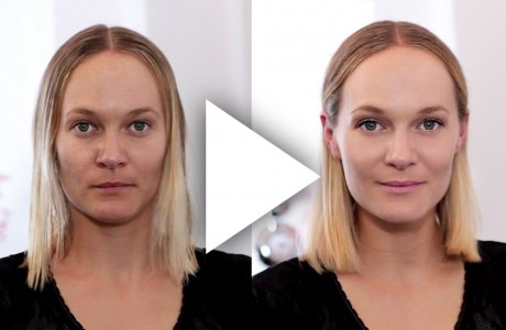 Do you look grey and tired? You need a total make-over like in this tutorial.